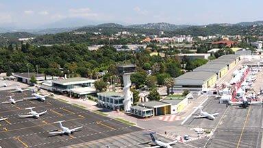 VTC Aéroport Cannes Mandelieu