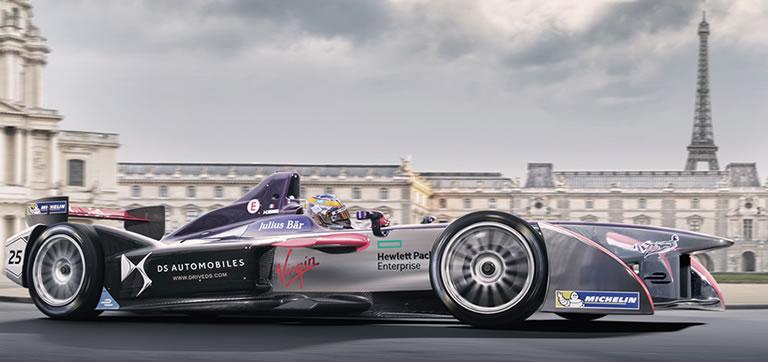 La Formule E : un championnat 100% électrique unique à Paris