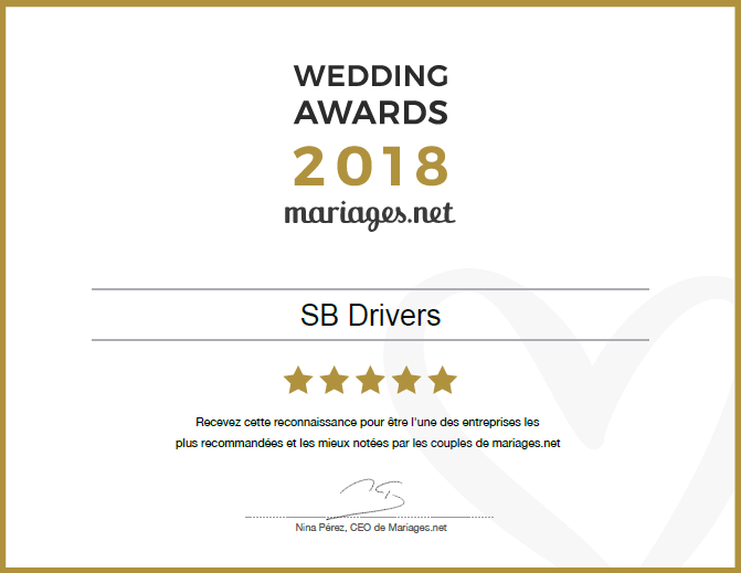 SB-Drivers : Wedding Awards 2018